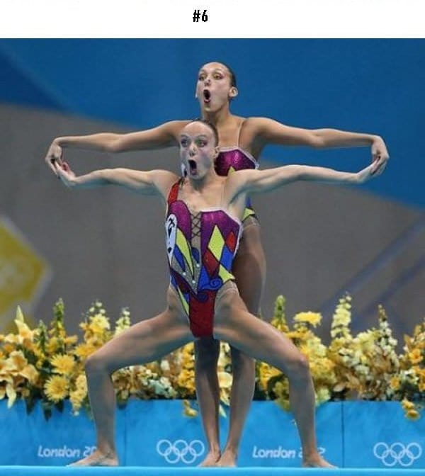 awkward sports moments gymnasts funny faces and posistions