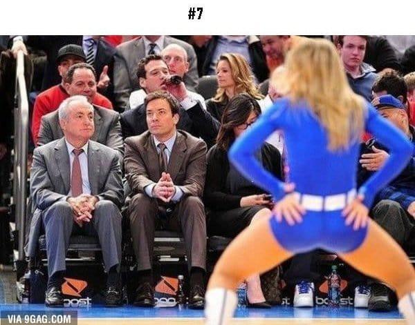 awkward sports moments man looking at woman