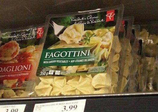 bad food names faggottini