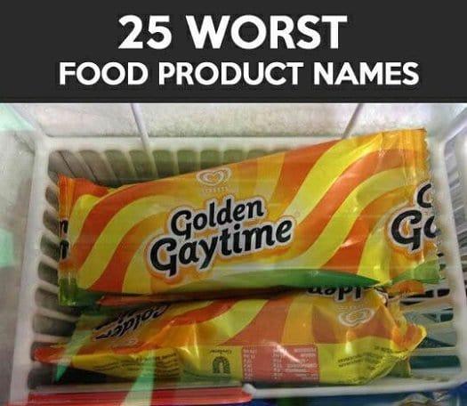 bad food names golden gaytime