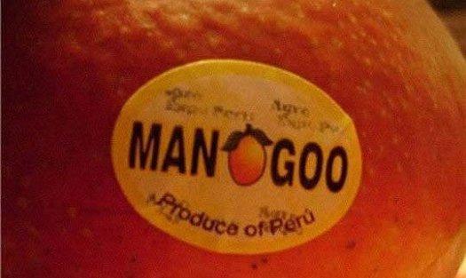 bad food names man goo