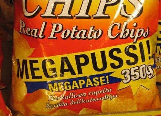bad food names megapussi