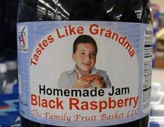 bad food names tastes like grandma