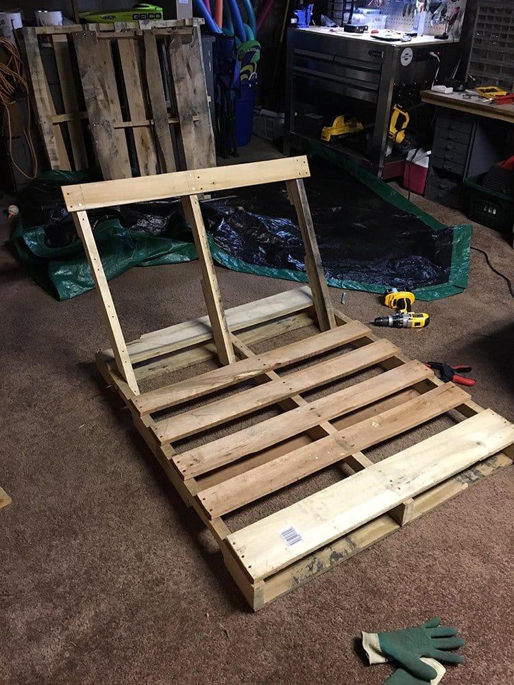 building back support
