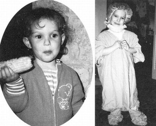 celeb child photos natalie portman