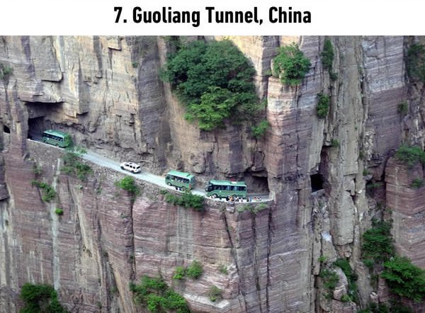 15 Of The Most Dangerous Roads On The Planet