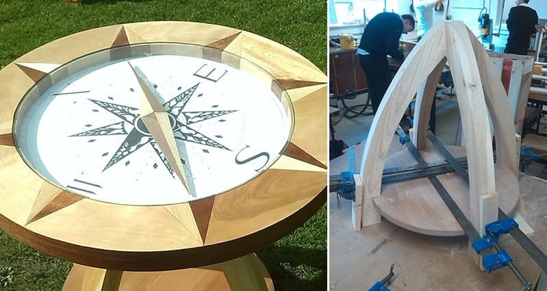 diy-compass-table
