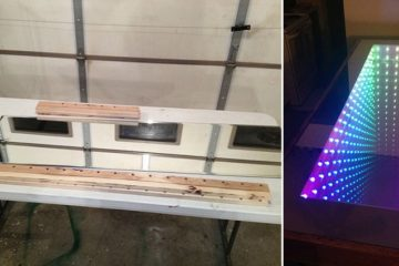 diy-infinity-mirror-table