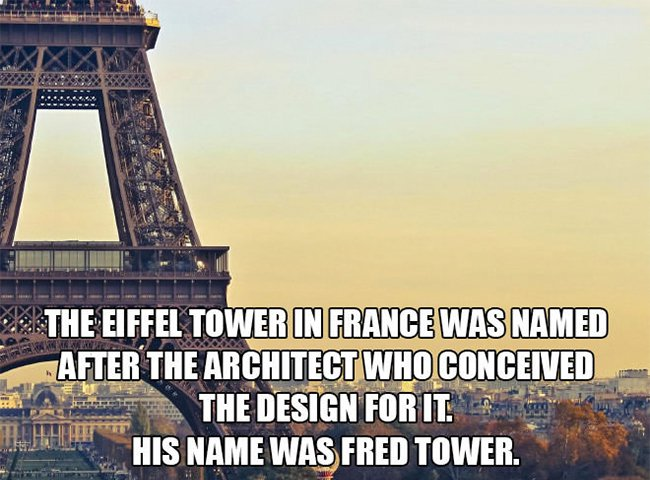 eiffel tower named after fred tower