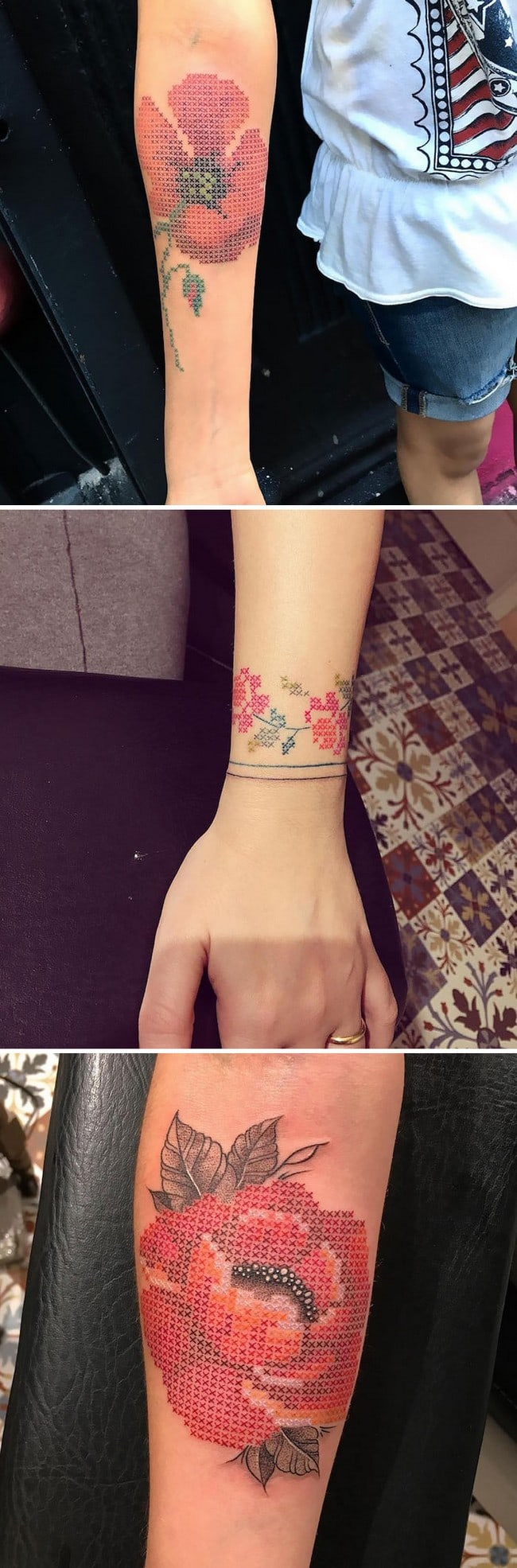 floral tattoo art eva krbdk