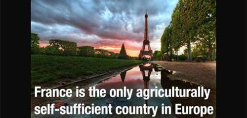 france self sufficient fact