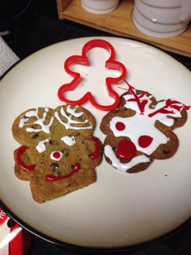 funny pinterest fails rudolph cookies fail
