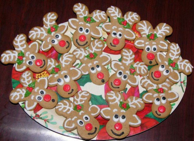 funny pinterest fails rudolph cookies