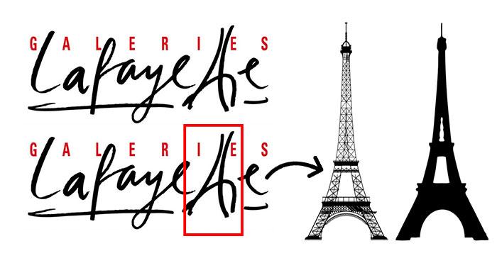 hidden meaning logo galaries lafayette