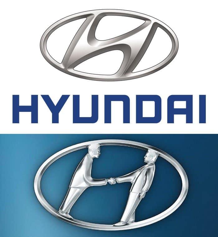 hidden meaning logo hyundai
