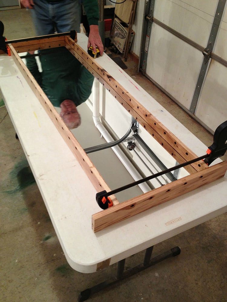 infinity table clamps hold boards