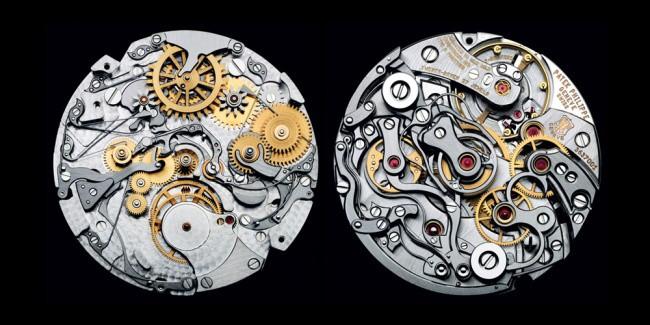 internal mechanism of patek philippe watches