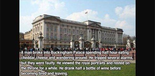 man broke into buckinham palace fact