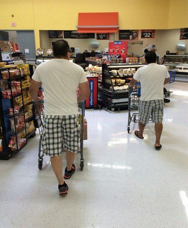 matrix glitches men cart same outfits