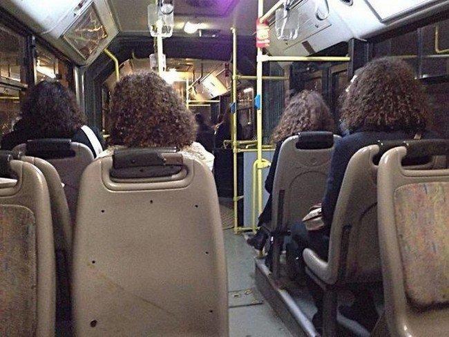 matrix glitches people same hair