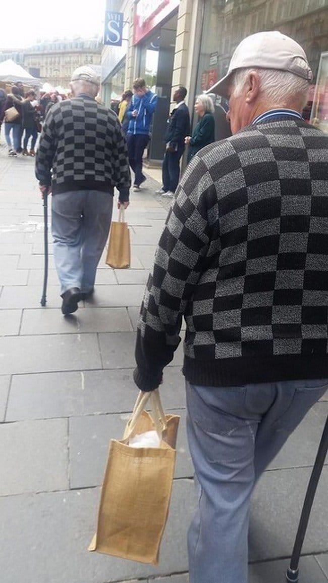 matrix glitches similarly dressed men