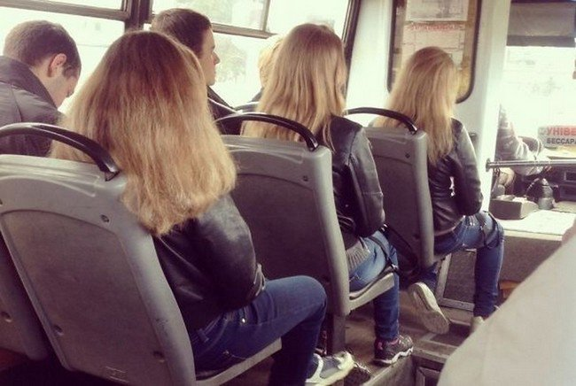 matrix glitches trio simlar couples bus
