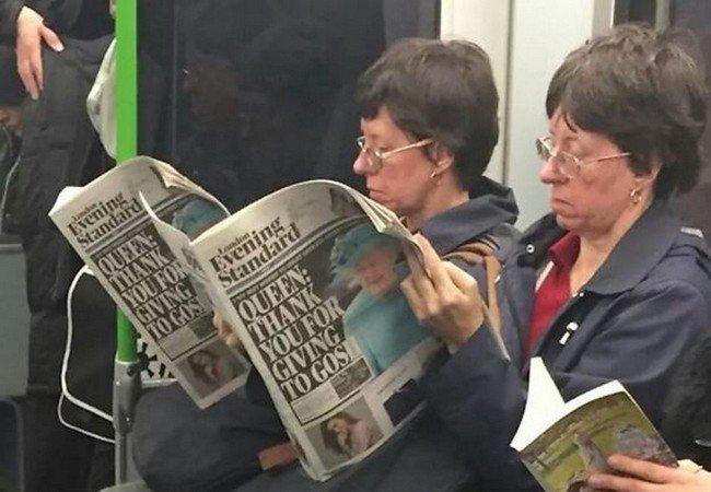 matrix glitches twin ladies reading