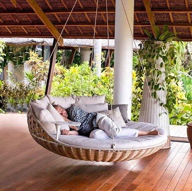 millionaire wishlist items hanging bed