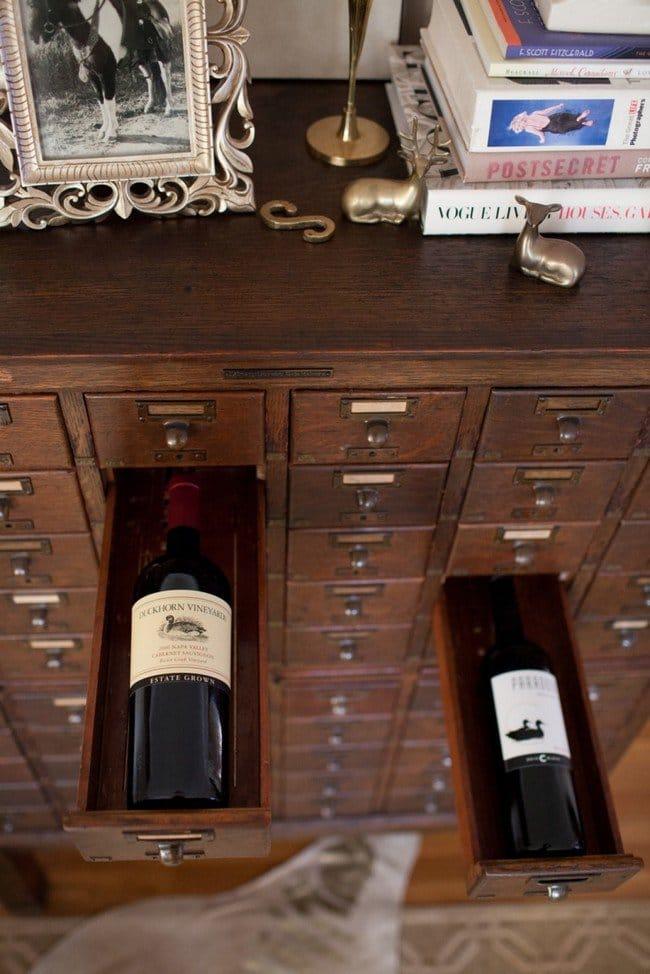 millionaire wishlist items wine cabinet