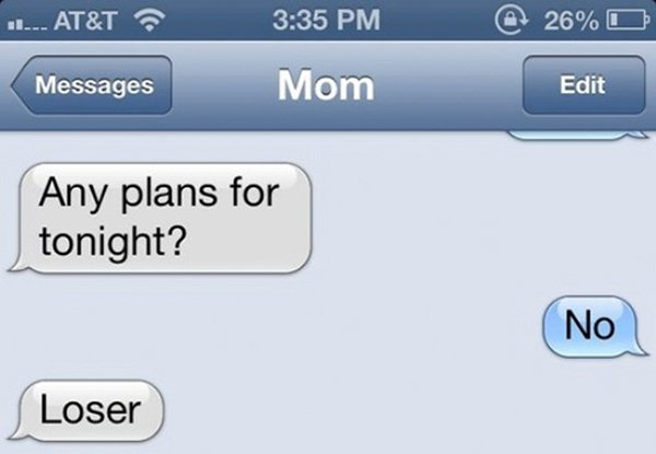 mom jokes humor loser