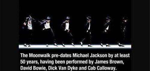moonwalk predates michael jackson fact