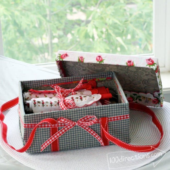 picnic shoe box