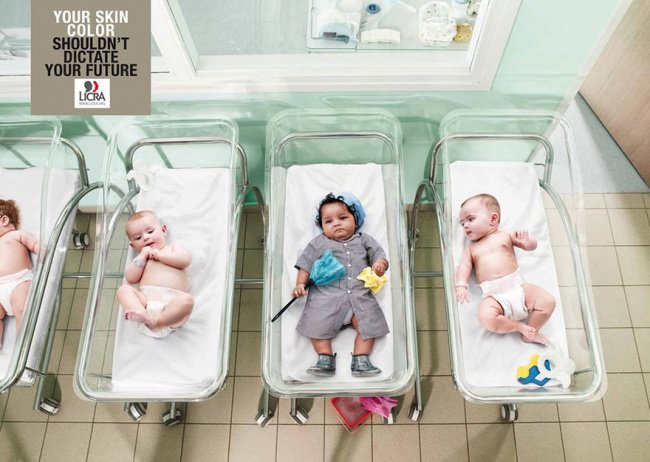 powerful advertising skin color shouldnt dictate future