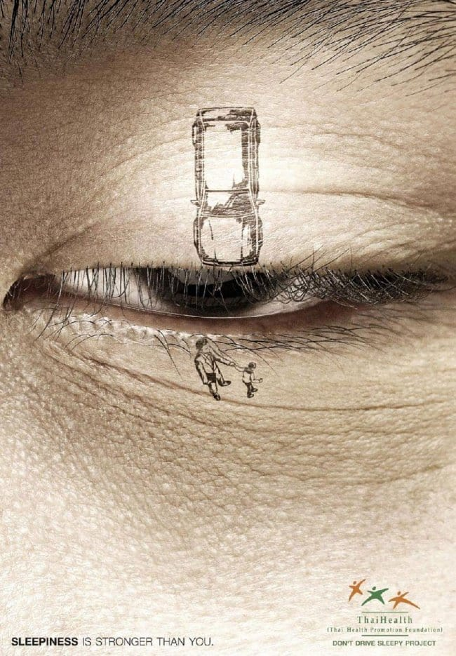 powerful advertising sleepiness is stronger than you