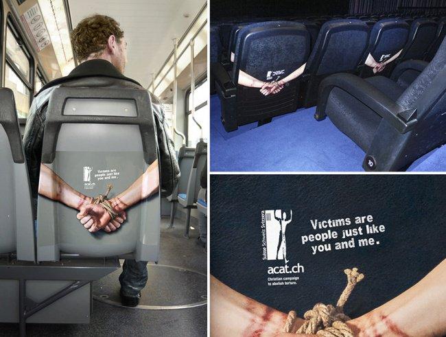 powerful advertising stop torture