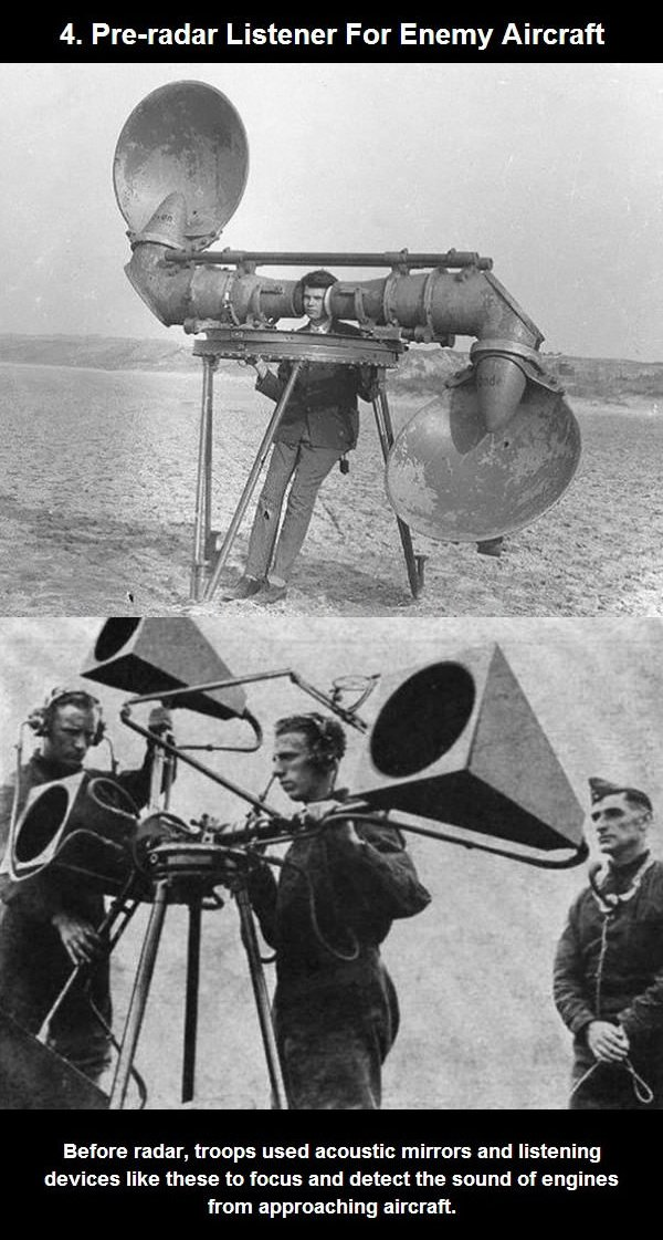 pre radar listener for enemy aircraft