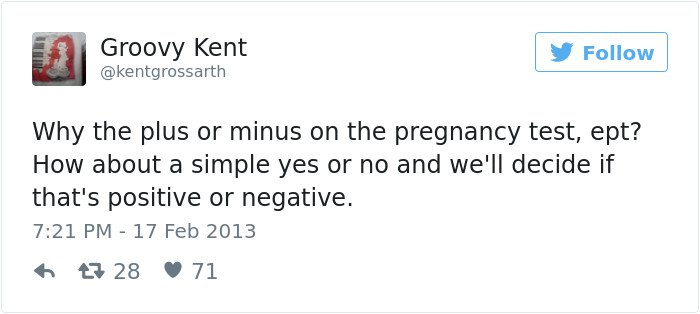 pregnancy tweets yes or no