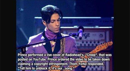 prince radiohead fact