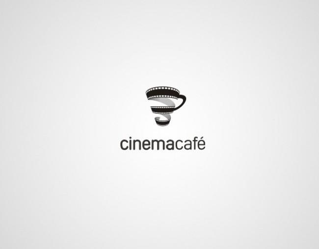 self explanatory creative logos cinemacafe