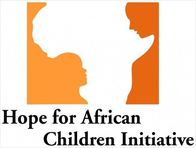 self explanatory creative logos hope for african children initiative