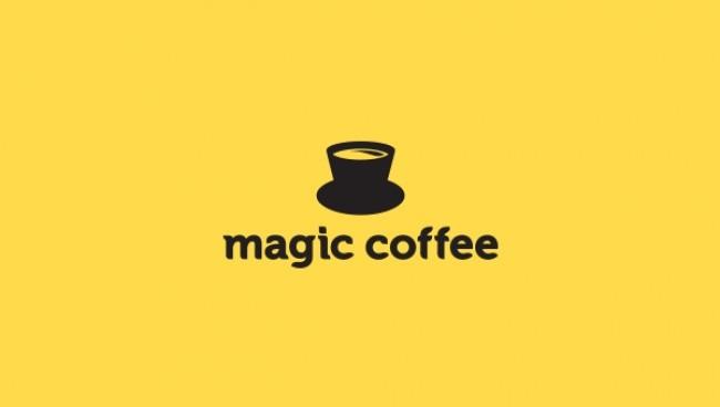 self explanatory creative logos magic coffee