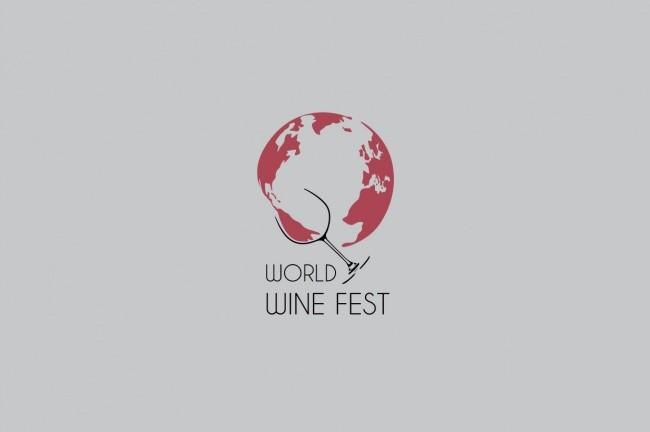 self explanatory creative logos world wine fest