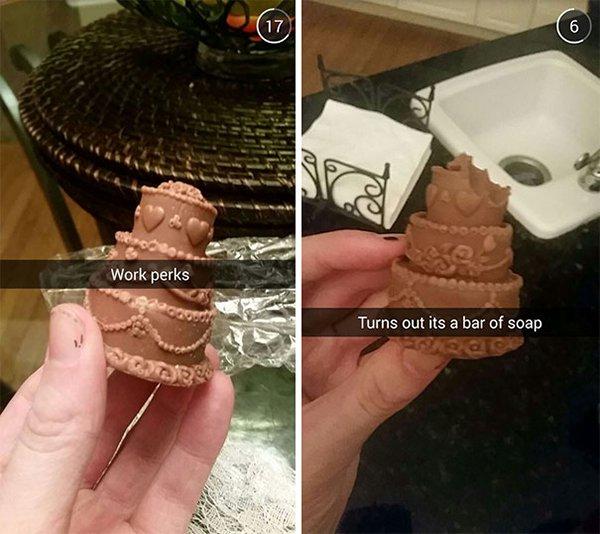 snapchat fails work perks soap