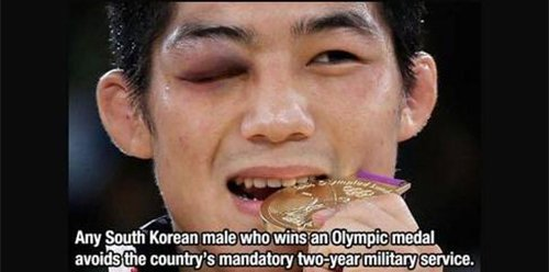 south korean olympic medal fact