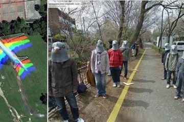 strange things google maps