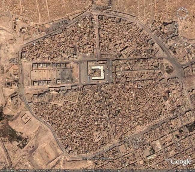 strange things google maps wadi us salaam