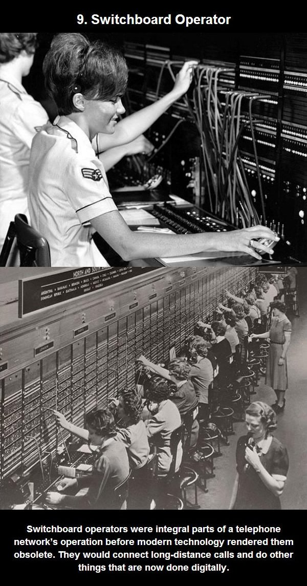 switchboard operator job
