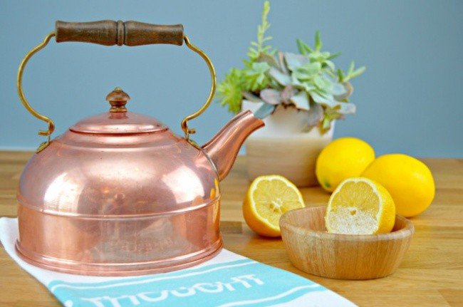 table salt hacks copper kettle lemons