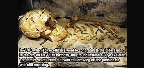 tokyo oldest man fact