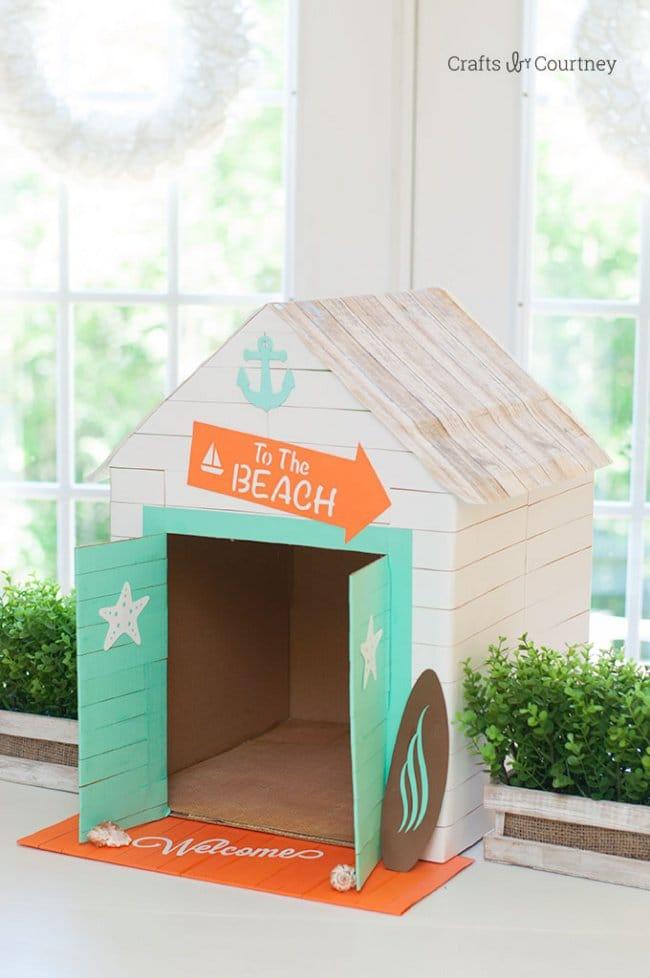 transform boxes a pet house